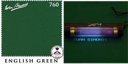 Сукно Iwan Simonis 760, 195 см English Green (Бельгия)